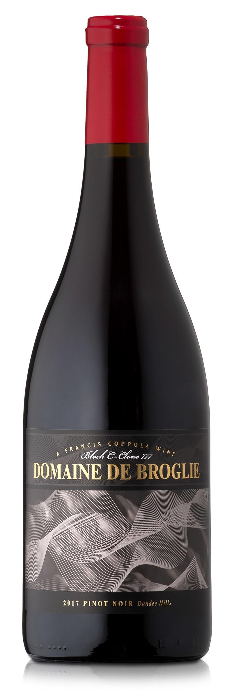 New Release -Domaine de Broglie Pinot Noir—A Francis Coppola Wine