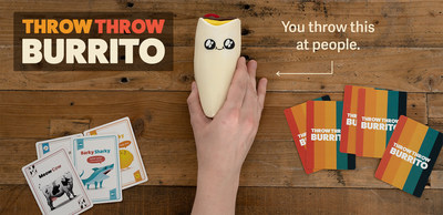 """""""Throw Throw Burrito"""" mixes the strategy of a card game with the excitement of dodgeball."""