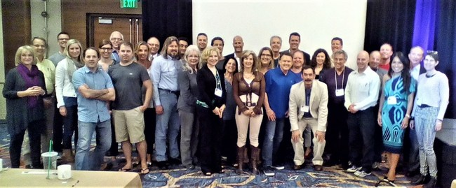 This is the graduating group of national and international healthcare providers, in May 2015,  who completed an advanced training discussing the application of a paradigm shift in the diagnosis and treatment of symptomatic Traumatic Brain Injury (aka PTSD).