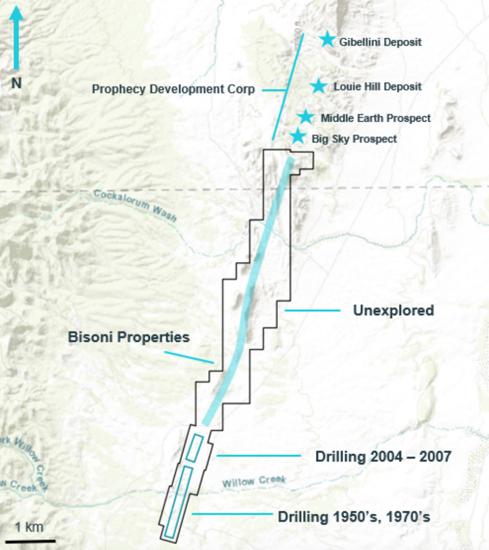 Map of Bisoni McKay and Bisoni-Rio
