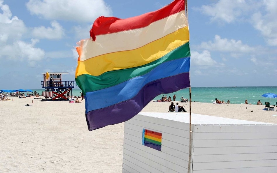 Miami Beach is an award-winning LGBTQ destination filled with spirit and pride, offering a multitude of experiences that cater to gay travelers from around the globe. (PRNewsfoto/Miami Beach Visitor and Convent)