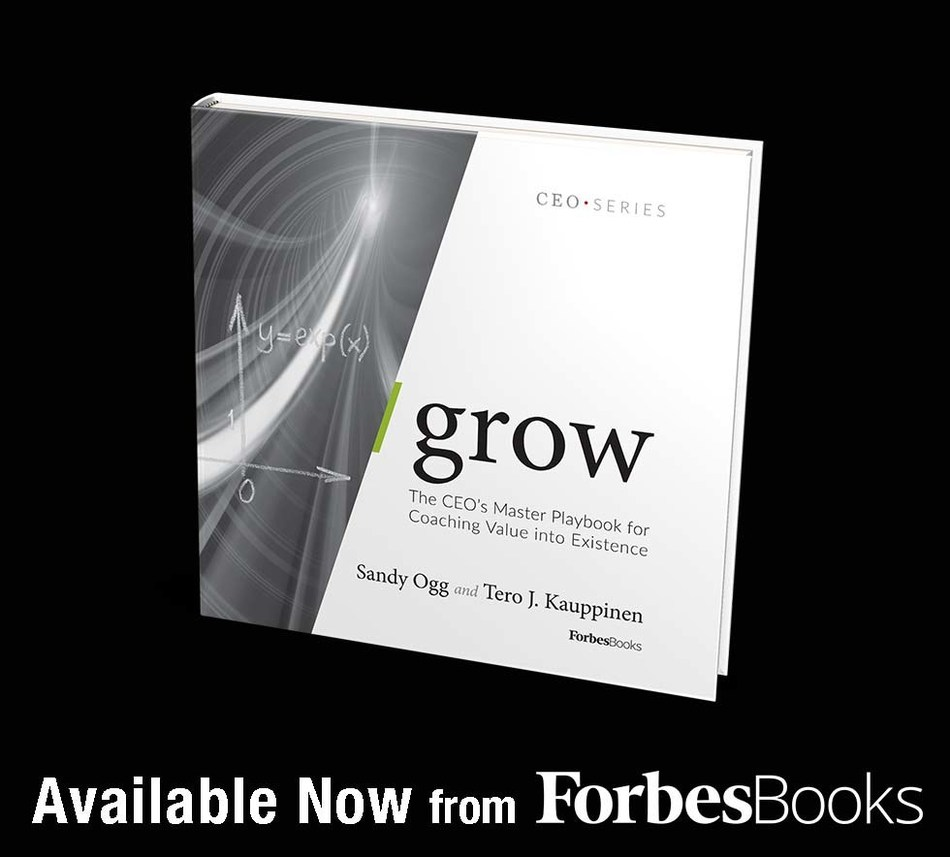 """Sandy Ogg Releases """"/grow"""" with ForbesBooks"""