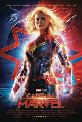 Marvel Studios' Captain Marvel in theaters March 8th