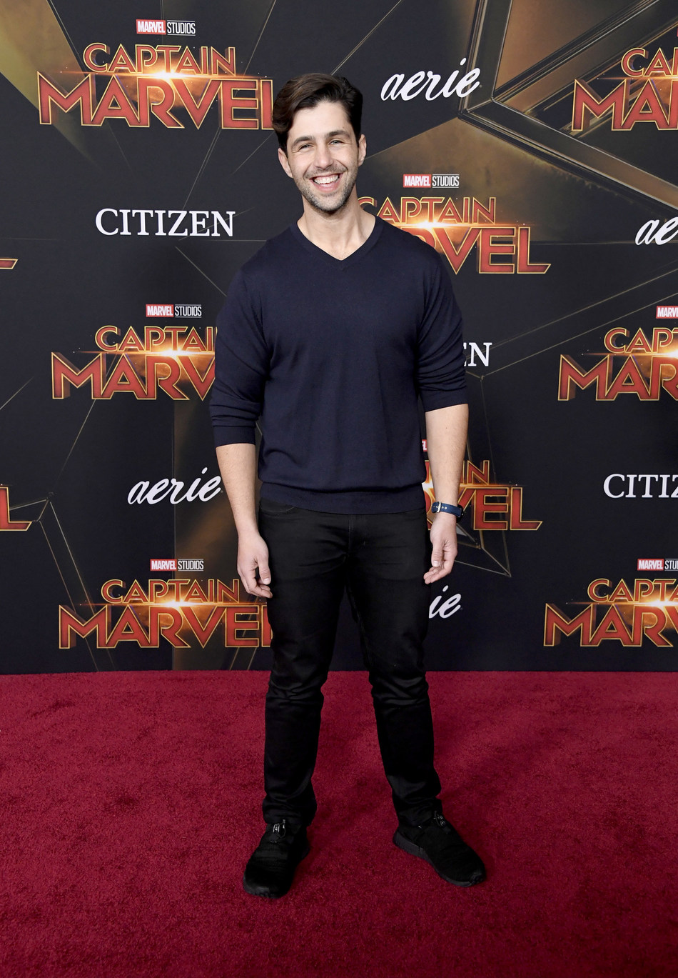 Citizen Marvel Ambassador Josh Peck at Captain Marvel Premiere (Credit: Getty).