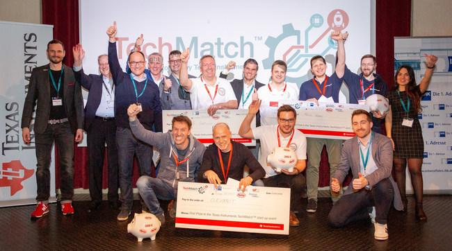 TechMatch Top 3 Winners