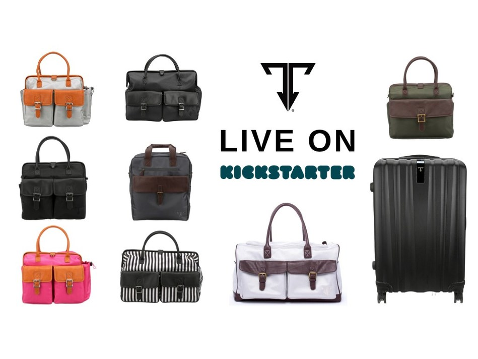 Meet THE TRAVELER leak-proof luggage collection.  Now live on Kickstarter.