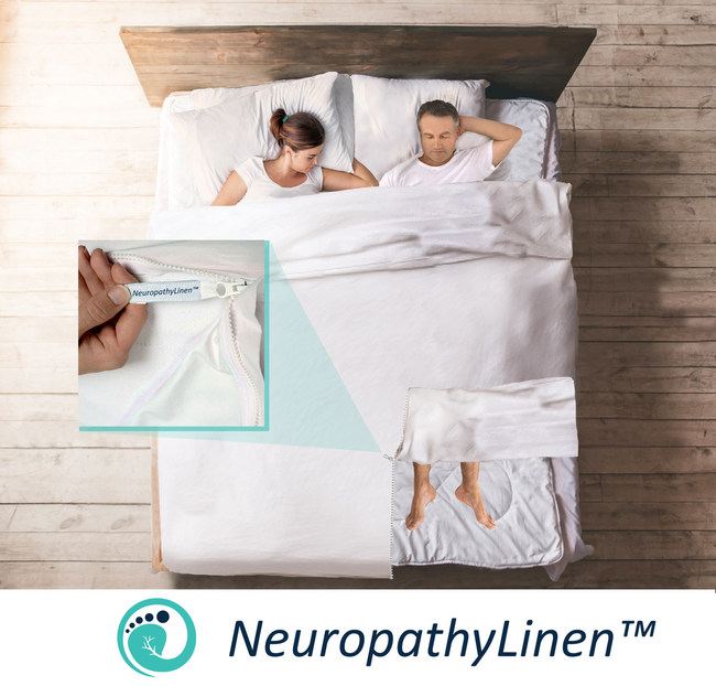 World S First Bed Linen That Promotes A Healthy Sleep Pattern And Comfort For Neuropathy Sufferers