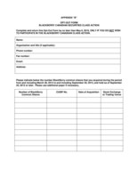 "Opt-Out Form (Appendix ""B"") (CNW Group/Siskinds LLP)"