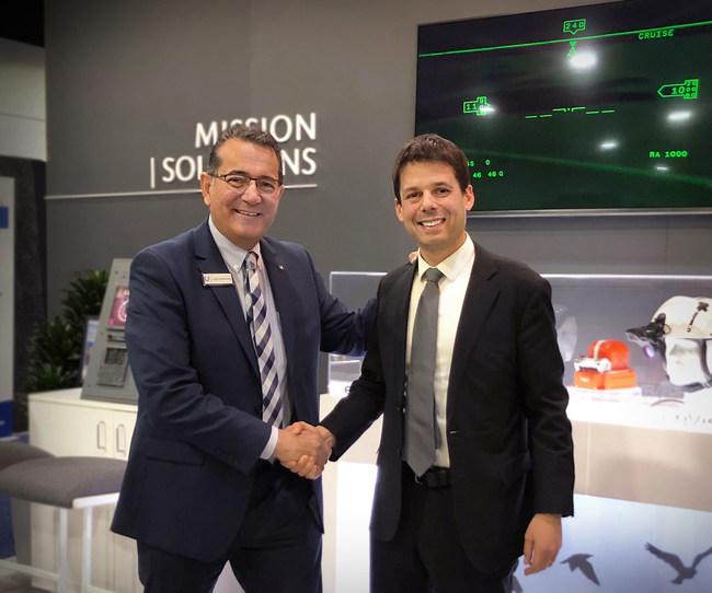 Dror Yahav to Be Named CEO of Universal Avionics, Left: Paul DeHerrera, Right: Dror Yahav