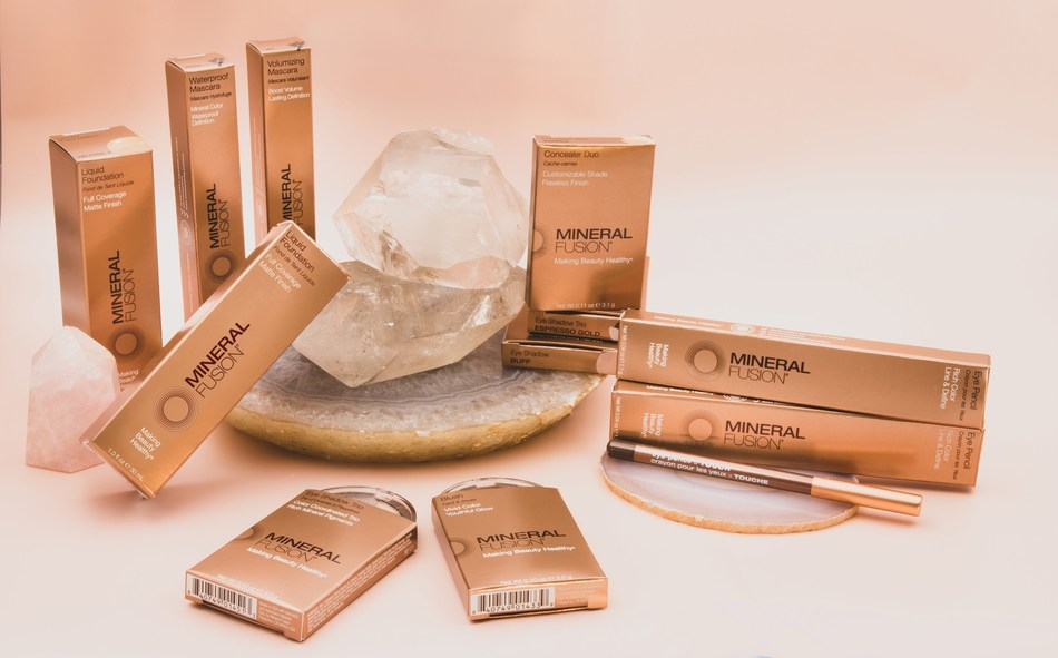 MINERAL FUSION Unveils New Modern Aesthetic For Bestselling Cosmetics Line