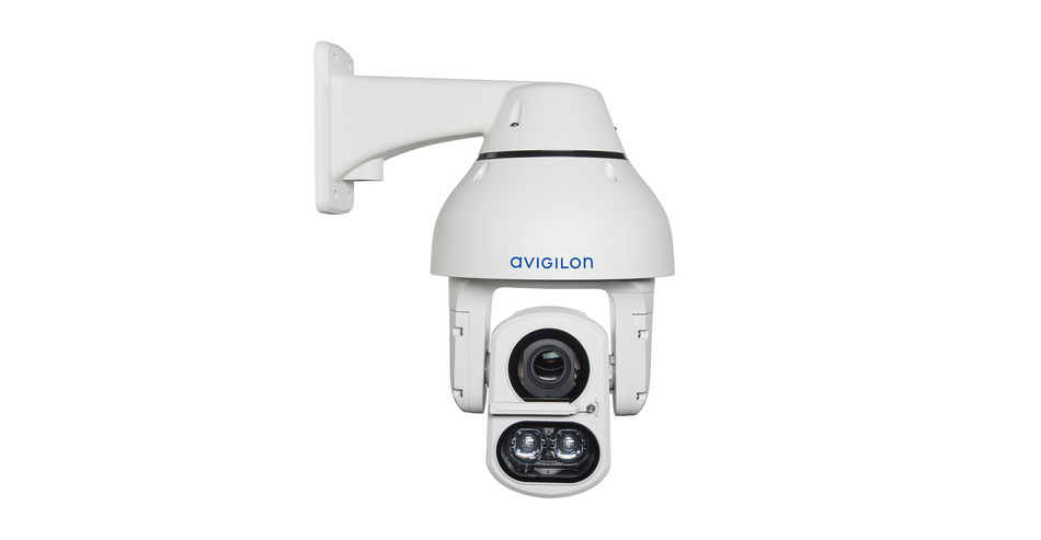 Avigilon's H4 IR PTZ camera recognized at The Buyer's Choice Award for its powerful zoom lens, IR technology and patented self-learning video analytics. (CNW Group/Avigilon Corporation)