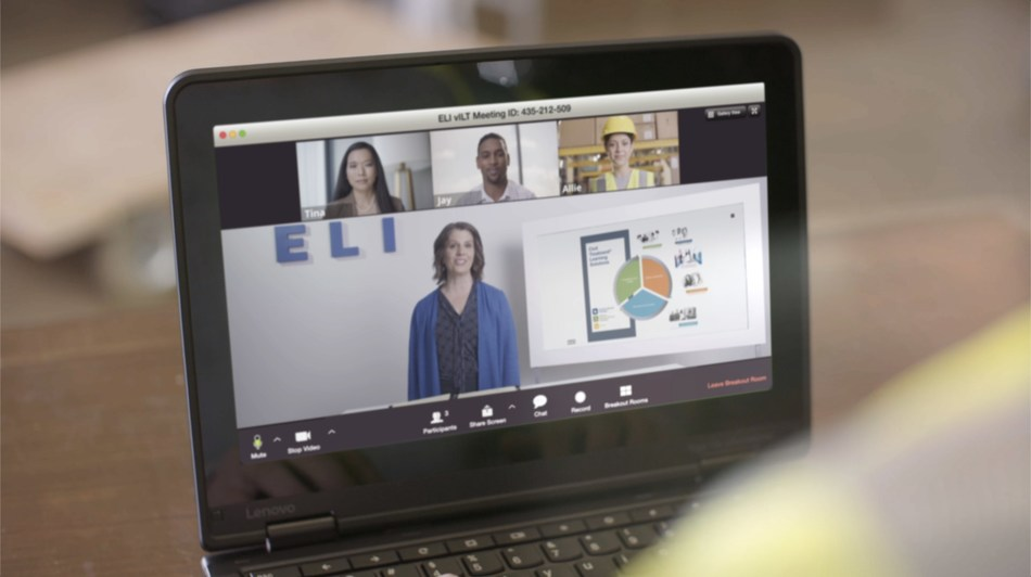 ELI's Virtual Instructor-Led Training (vILT) offers its interactive workplace behavioral trainings from anywhere in the world.