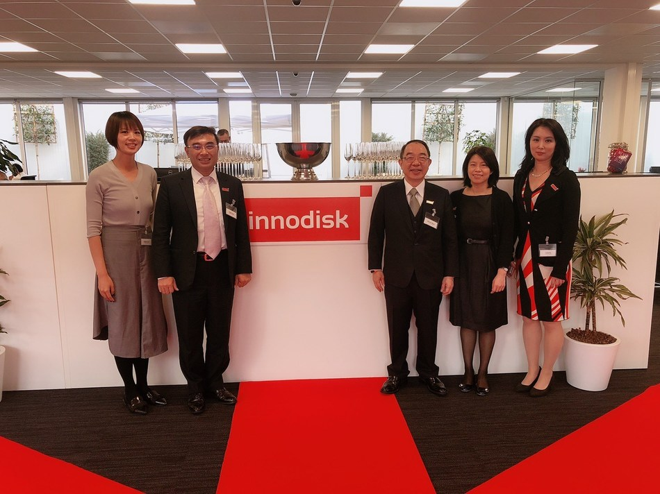 Innodisk accelerates growth with the opening of new office in Eindhoven