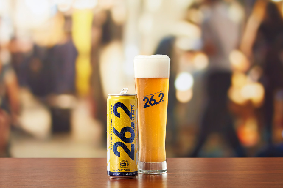Marathon Brewing releases 26.2 Brew, offering runners a new refreshing reward for their hard work that tastes as satisfying as their accomplishments feel.