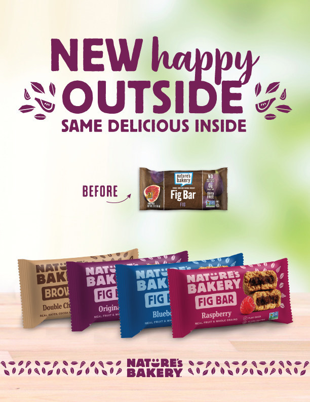 Nature's Bakery Debuts Vibrant New Look To Capture All-Family Appeal
