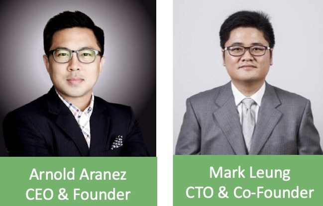 Co-Founders, Arnold Aranez and Mark Leung