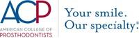 ACP Logo (PRNewsfoto/American College of Prosthodont)