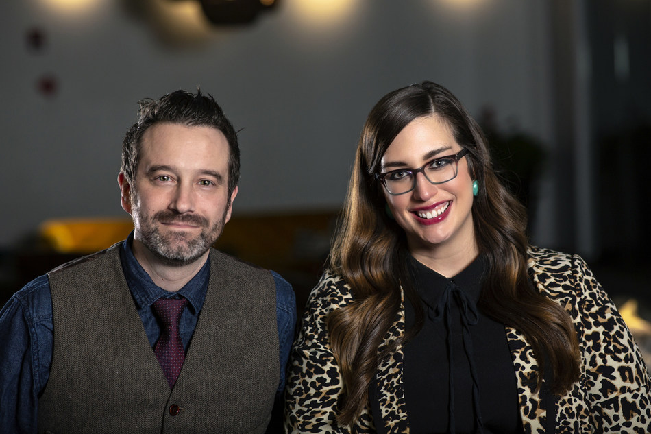 Ray Elfers (left) & Margaret Russo (right), Group Creative Directors, Grey Midwest