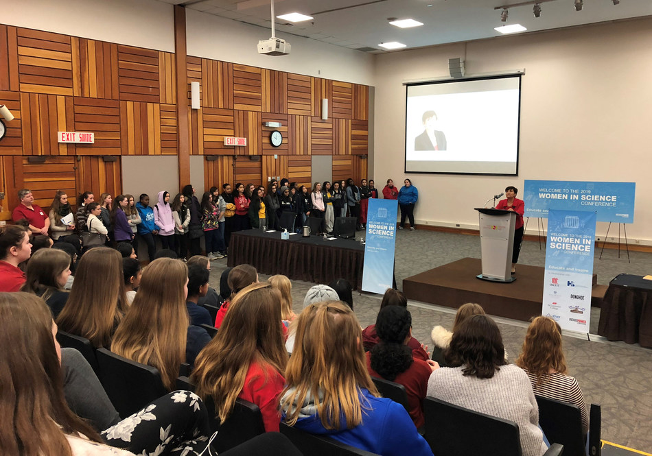 OPG Women in Science Conference Nav Centre Cornwall (CNW Group/Ontario Power Generation Inc.)