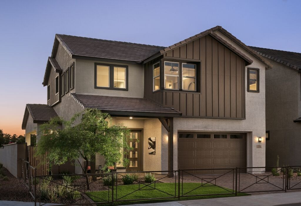 Mattamy's Haven community in Chandler, AZ, provides homeowners the ability to enjoy lower utility bills, a healthier living environment and a reduced carbon footprint, thanks to an innovative partnership with energy storage company Electriq Power. (CNW Group/Mattamy Homes Limited)