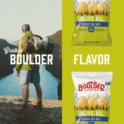 On packaging and illustrated in Boulder Canyon's new digital content, fans will find encouragement to follow their own path, savor the journey, and to celebrate their real, honest experiences. Whether campside in the Flatirons, streamside in the foothills, or taking a quick snack break, Boulder Canyon is a conduit to adventure.