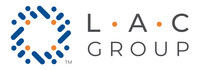 Newly designed LAC Group logo.