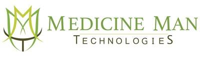 Medicine Man Technologies Inc. Logo (PRNewsfoto/Medicine Man Technologies Inc.)