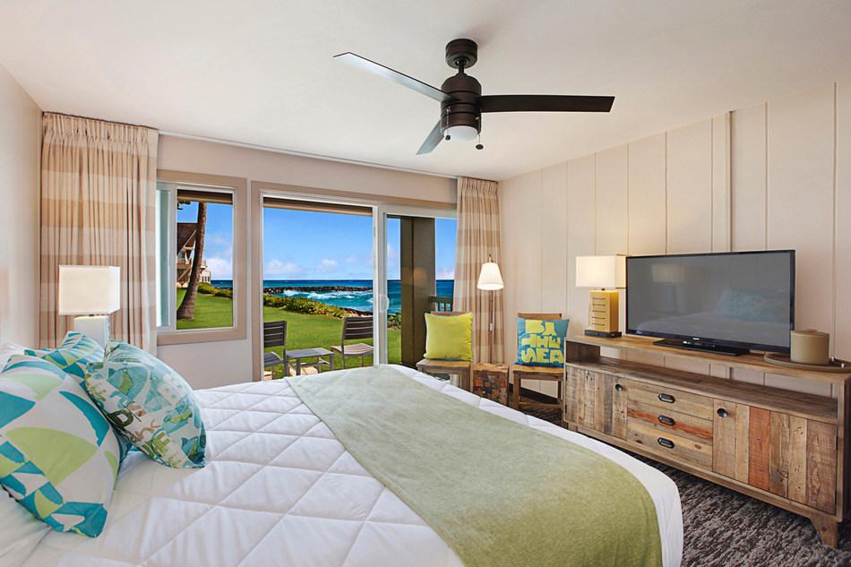 The ISO is a 79-room oceanfront retreat on Kauai's famous Royal Coconut Coast.
