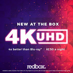 Redbox More Than Doubles Cities With 4K Ultra-HD Rental Availability