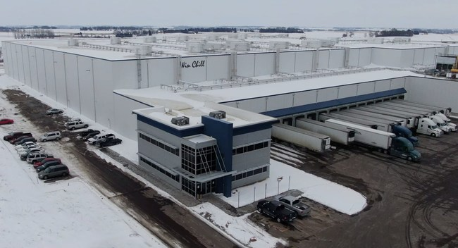 300,000 sq. ft. cold storage distribution center in Sioux Falls, SD