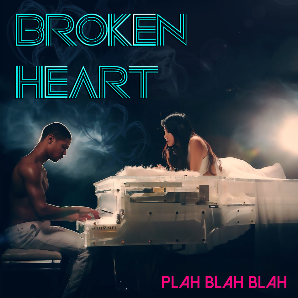 "Plah Blah Blah, has released her music video for her dance hit ""Broken Heart"". Directed by Steven Skyler of Secret Sky Productions and featuring Power Ranger Najee De-Teige and Whitney Houston's ""glass"" piano."