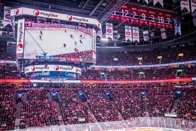 Playtika, chef de file dans le domaine des jeux mobiles, a annoncé aujourd'hui qu'elle est devenue fier partenaire des Canadiens de Montréal.