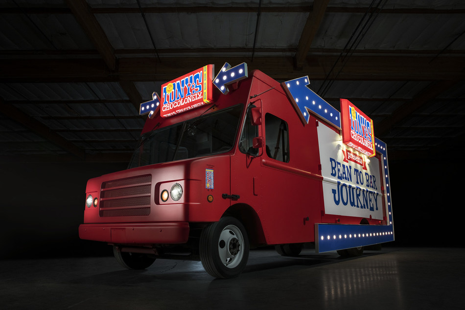 Tony's Chocolonely's Chocotruck Goes on Tour to Share Bean to Bar Journey