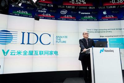 Viomi Technology, em parceria com a IDC, divulga o White Paper Consumer IoT Outlook 2025 (PRNewsfoto/Viomi)