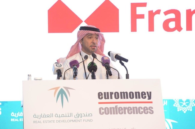 The Housing Minister and Chairman of REDF's Board of Directors Majed Al-Hogail