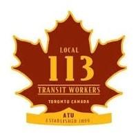 Amalgamated Transit Union Local 113 (CNW Group/Amalgamated Transit Union Local 113)