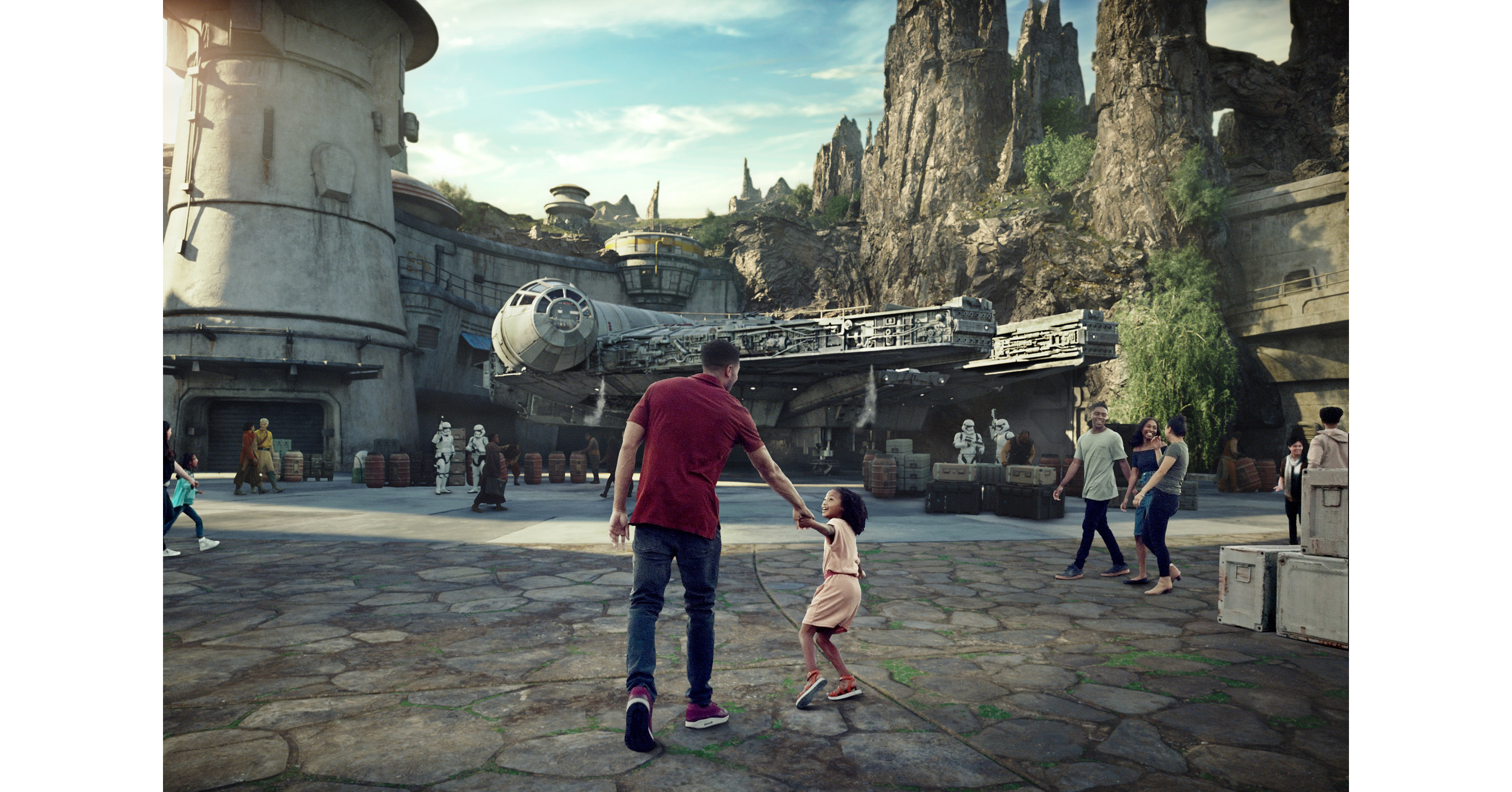 Star Wars: Galaxy's Edge Set to Open at Disneyland Resort on May 31