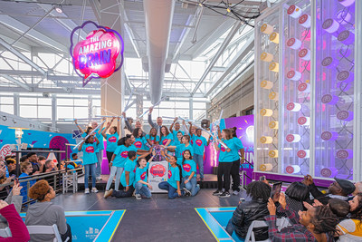 The Burns & McDonnell Battle of the Brains winners activated The Amazing Brain, which is now the largest indoor exhibit at Science City in Kansas City, Missouri.
