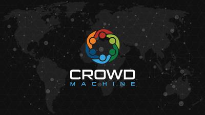 Crowd Machine Logo (PRNewsfoto/Crowd Machine)