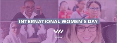 视力影响研究院在妇女节重点强调良好视力对女性和女孩的关键作用