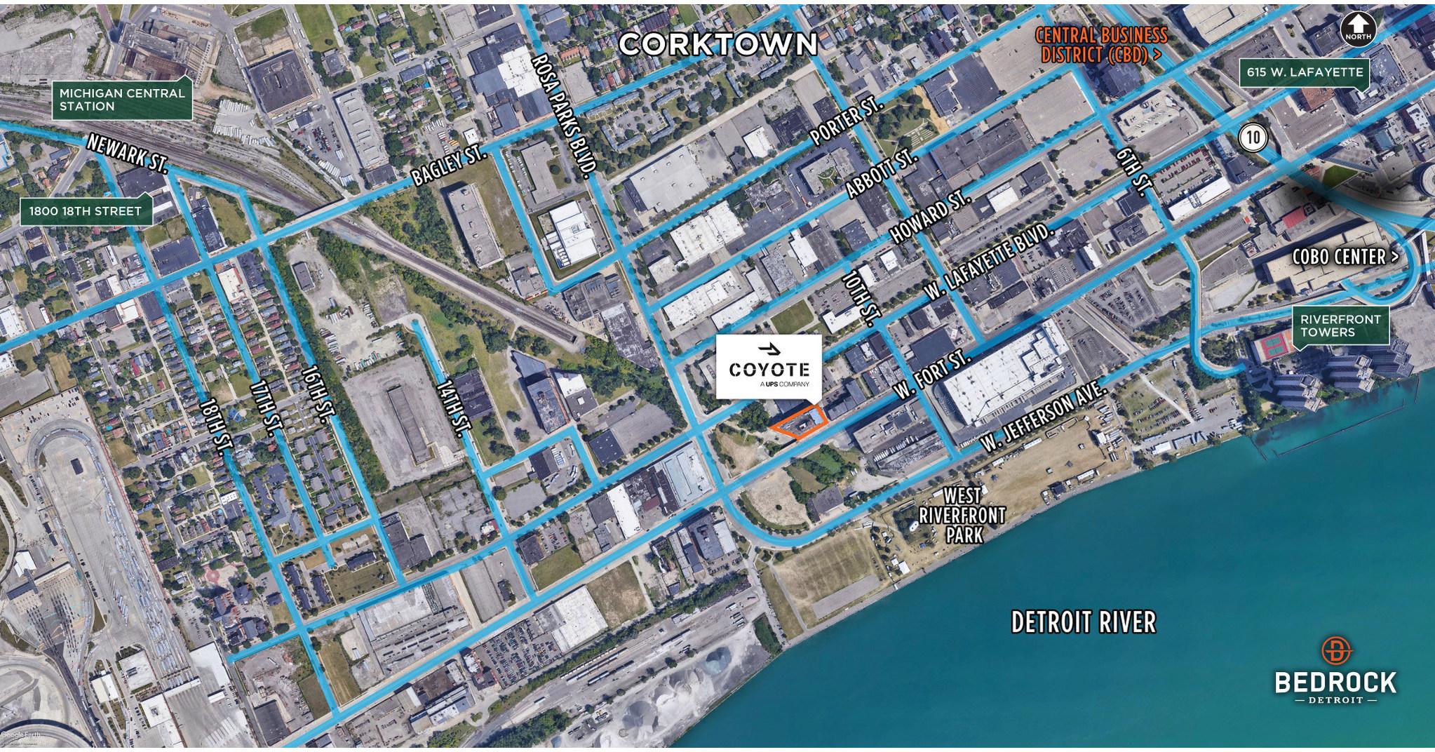 UPS Company 'Coyote Logistics' To Open New Detroit Tech Hub
