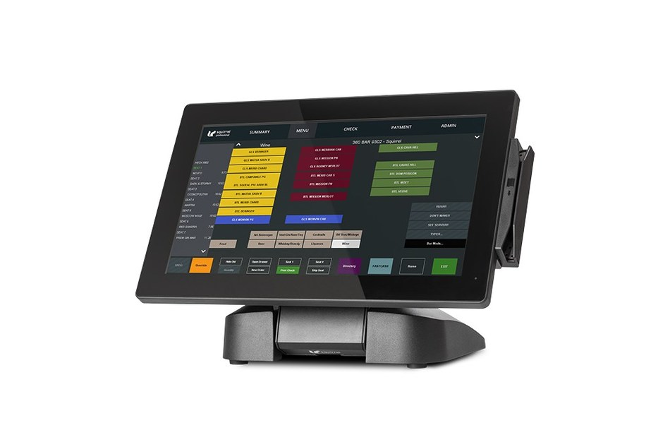 Squirrel WS140H Hospitality POS Terminal (CNW Group/Squirrel Systems)