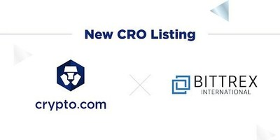 Bittrex lists Crypto.com Chain Token (CRO) Ahead of Go-Live Next Week