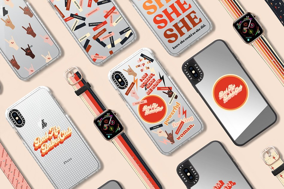 CASETiFY launches #HerImpactMatters collection for International Women's Day. 100% of net proceeds will be donated to Girls Inc. from the sale of this collection.