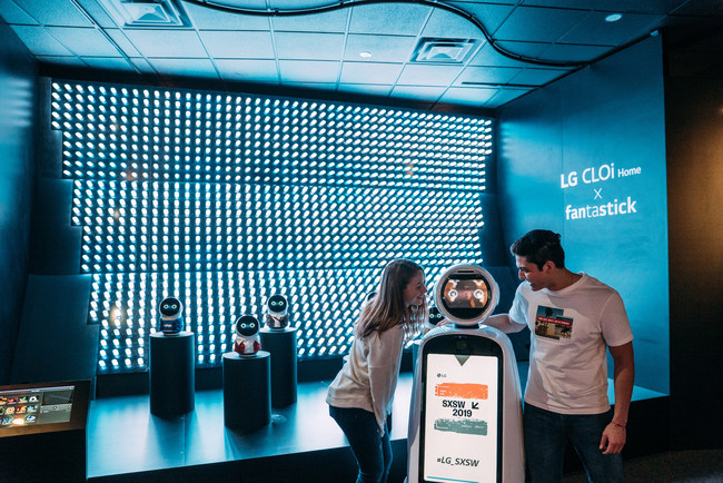 LG Electronics debuts at South by Southwest with its LG Inspiration Gallery, showcasing new concepts in robotics, home appliances and consumer electronics.