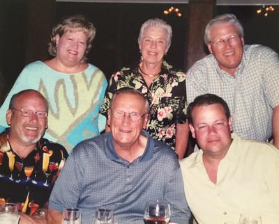 StorageMart founder Gordon Burnam with his family