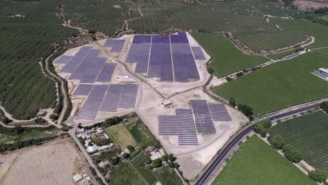 Queule photovoltaic park