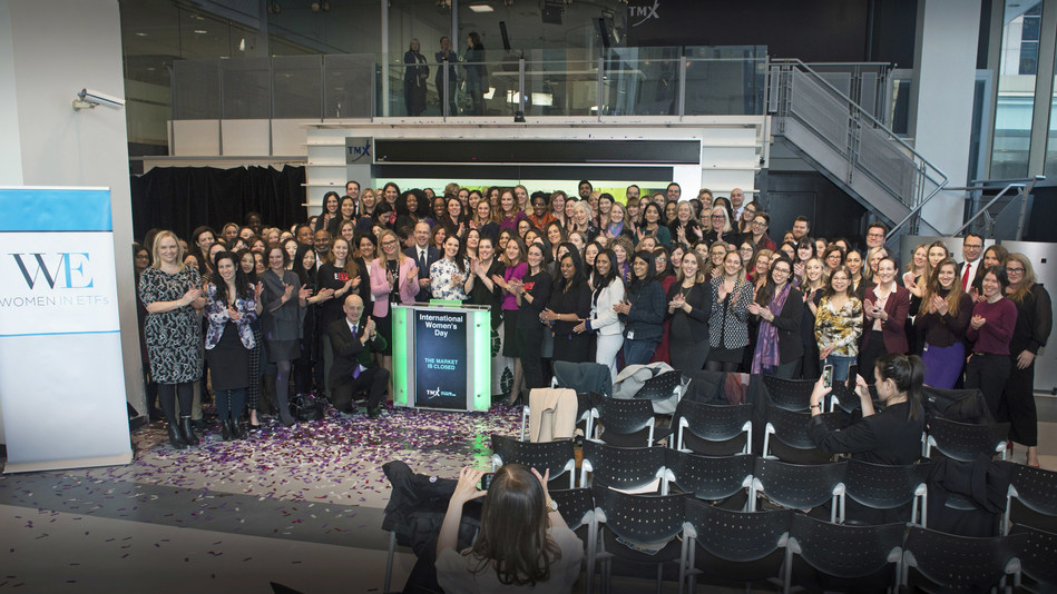 International Women's Day 2019 Closes the Market (CNW Group/TMX Group Limited)