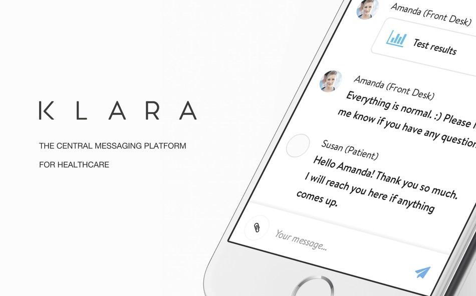 Klara: The central messaging platform for healthcare