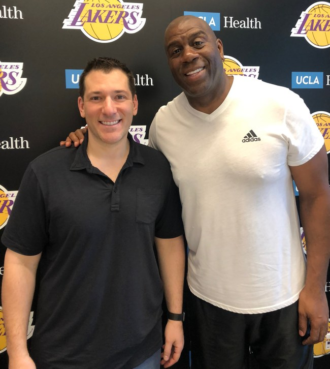"""""""We are thrilled to welcome Magic to the PPC family,"""" said PPC President Kyle Bell. """"We have worked with him many times over the years and this exclusive long-term partnership was a natural next step to protect and grow the Magic Johnson autograph brand."""""""